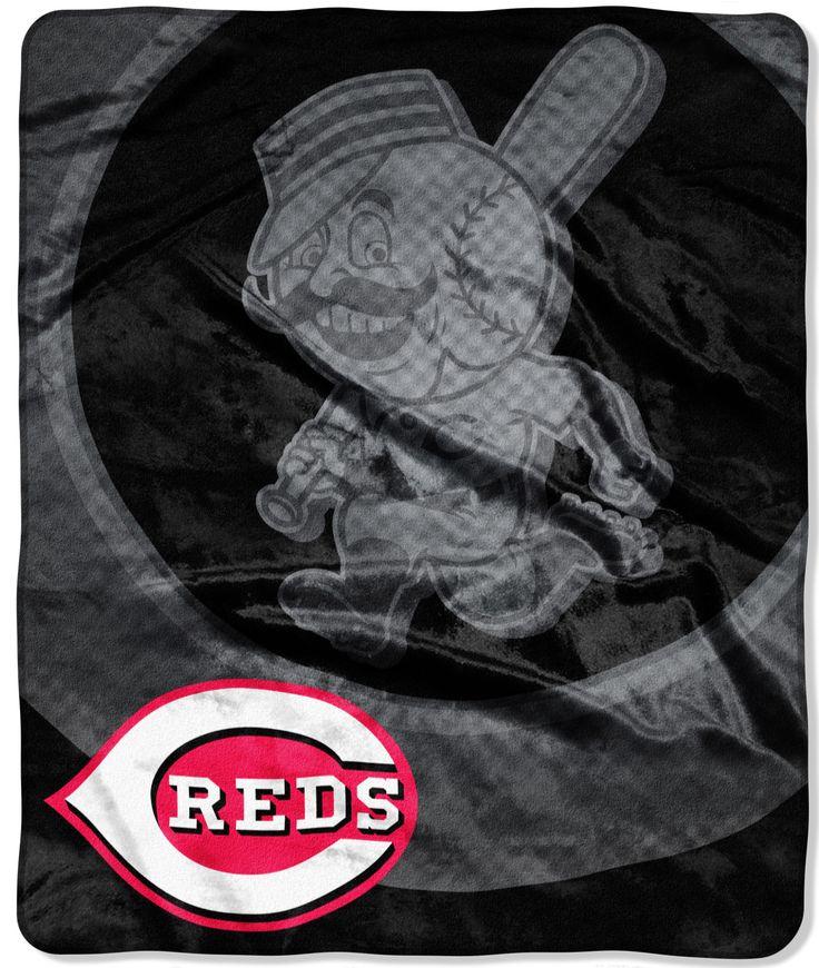MLB Reds Retro Throw