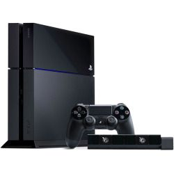 PlayStation 4 PS4 Bundle 500GB Console + Dualshock Controller + PlayStation Plus 12-Month Subscription + Camera + Controller Silicone Grips + 2X Charging System - Play Station