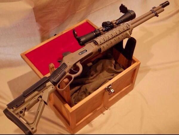 Tactical 30 30 Lever Action Gun Porn Pinterest Action