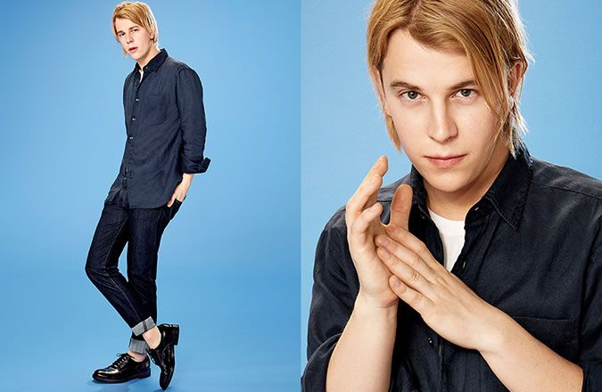 Tom Odell For UNIQLO Campaign Look 3
