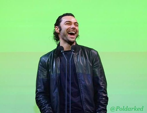 #AidanTurner presenting an Angela Award at the Subtitle European Film Festival 2016