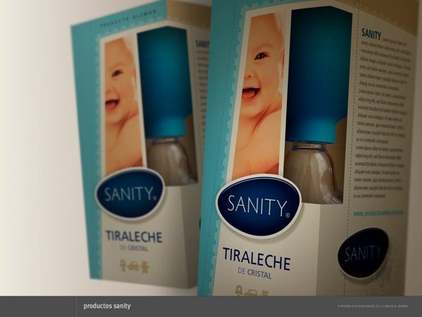 Packaging para Productos Sanity by Carlos A. Rivera, via Behance