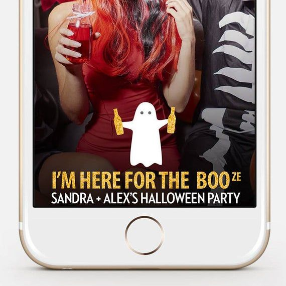 Halloween Photo Filter 2020 LIMITED TIME Halloween Snapchat Filter I'm Here For The | Etsy in