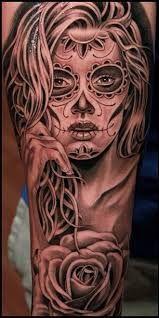 Resultado de imagem para pinterest tattoo catrina