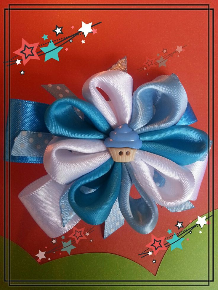 Hermoso diseño de lazo 🎀 en tonos azul