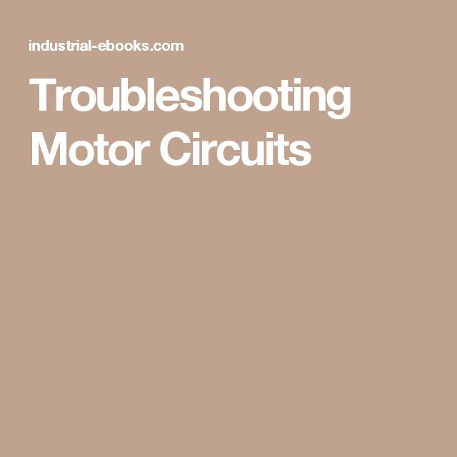Troubleshooting Motor Circuits