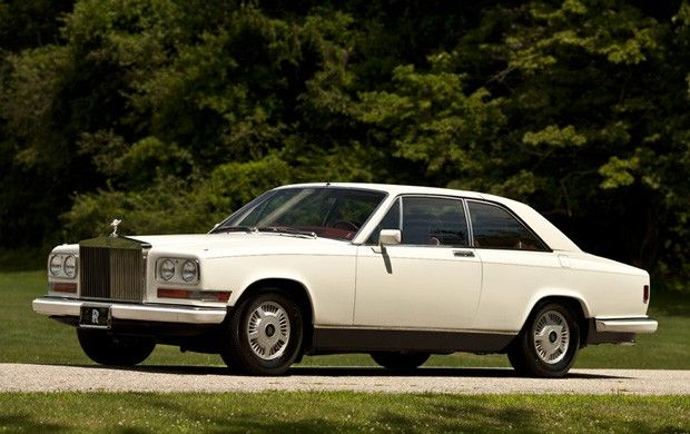 1987 ROLLS-ROYCE CAMARGUE RETRACTABLE HARDTOP
