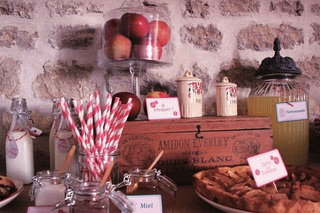 so french countryside bday party