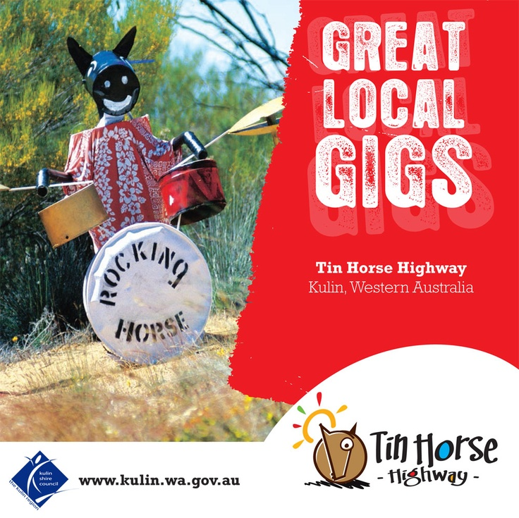 For a seriously entertaining drive or fun alternative route to Wave Rock, don't miss the Tin Horse Highway! A 15 km stretch of road: The Gorge Rock -Lake Grace Road.  http://www.australiasgoldenoutback.com/Listing/Tin_Horse_Highway