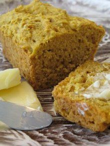 Pumpkin Pear Bread (but without butter)