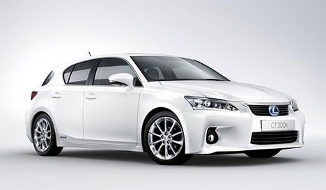 Photo: Lexus Downsizing the Premium Market It's now confirmed, the Lexus CT 200h hybrid will come to the U.S. in early 2011. It looks kind of like a luxury version of the Toyota Matrix, or the Nissan Versa, but it has all of the premium features