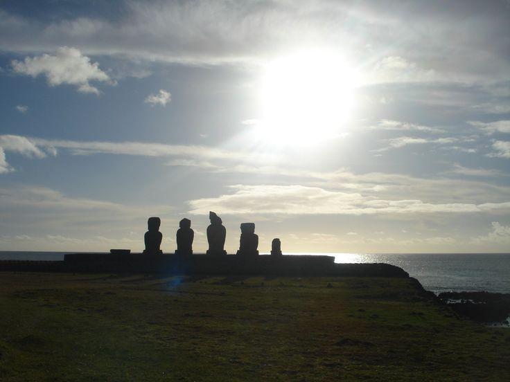 Tarde en Ahu Vai Uri (Rapa Nui) Septiembre 16, 2014