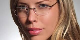 Rimless Glasses Makeup : 56 best images about glasses on Pinterest Sunglasses ...