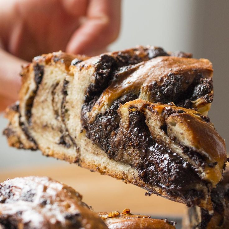 Chocolate Braided Swirl Bread (Babka) Recipe by Tasty