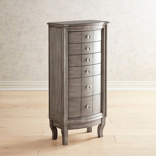 Pier 1 Imports Palmer Pewter Jewelry Armoire 450 Liked On