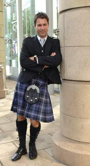 Eric McCormack - Formal Kilt: In 2008 the Scottish Register of Tartans was established by an act of the Scottish parliament to protect, promote and preserve tartan. The register now holds details of over 6,500 designs. The demand for the pattern with its Scottish connection continues thanks to Sir Walter Scott and his 19th Century festival fit for a King.