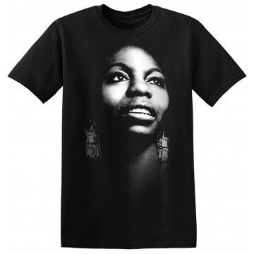 Nina Simone Tee Shirt Jazz Singer Vintage Classic Rock ...