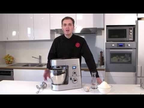Recette au Cooking Chef Premium : la pâte à pain par l'Atelier des Chefs
