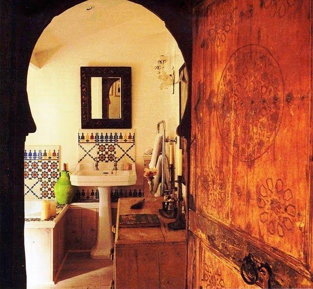 Moroccan Bathroom Designed By Miv Watts