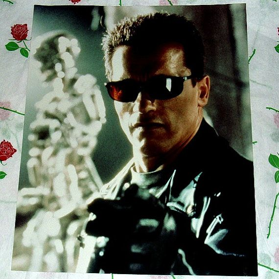 The Terminator Arnold Schwarzenegger Glossy by WelshGoatVintage