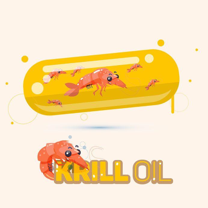 ¿Cuál es la diferencia principal entre el aceite de Krill y el aceite de pescado (concentrado)?