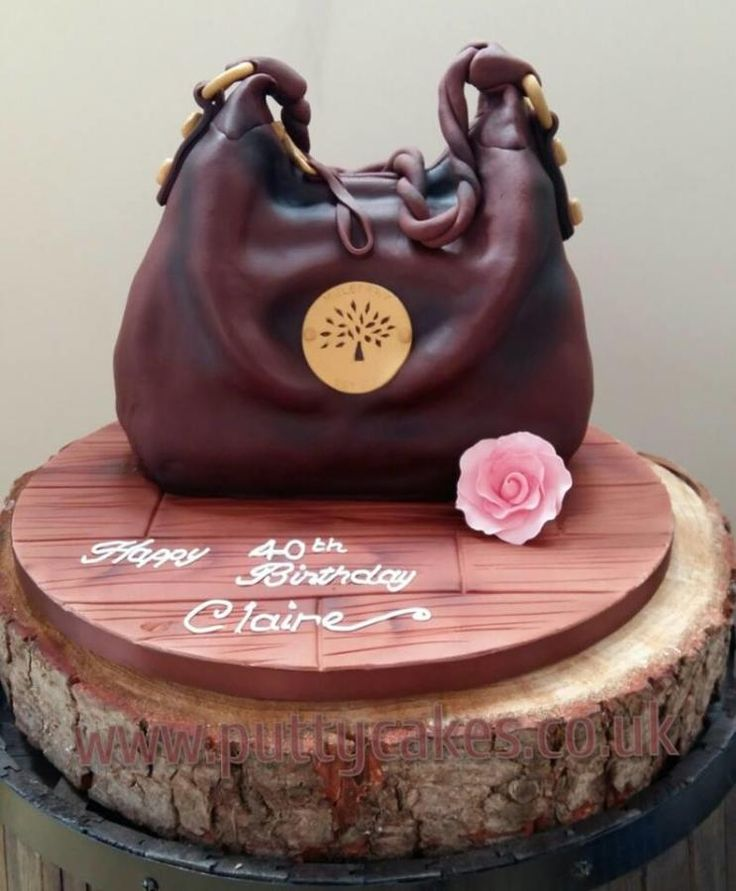 562 Best Images About Cakes Shoes Handbags On Pinterest