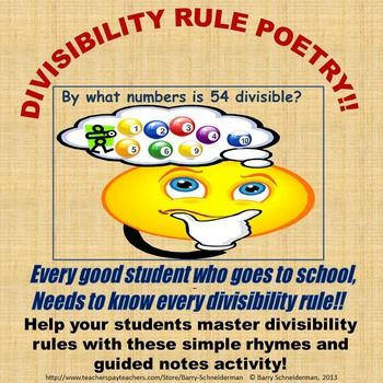 Divisibility Math Tricks to Learn the Facts (Divisibility