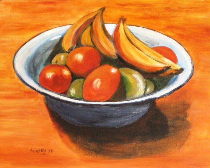Still life: bowl of fruit, c.2009