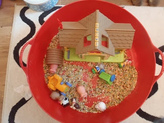 Sensory farm play linked to farm stories