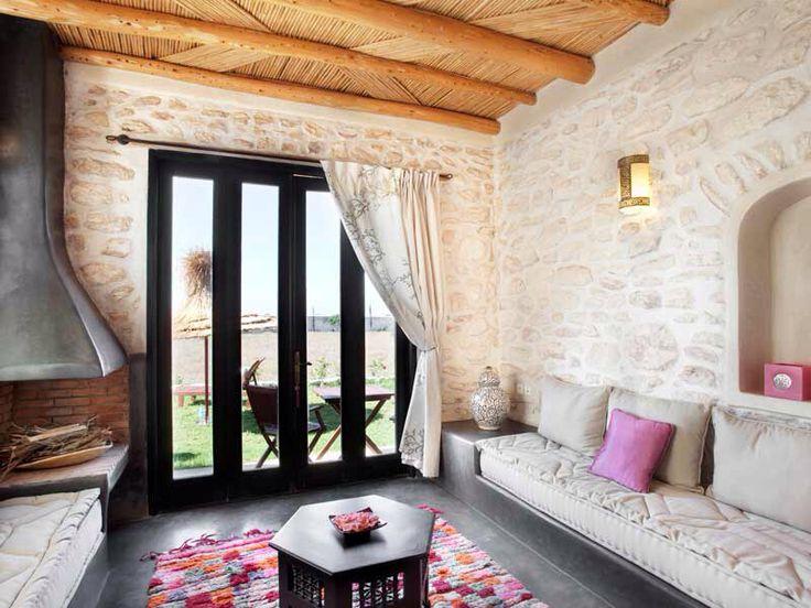 salon marocain sans bois tadelakt - Sedari Moderne En Bois