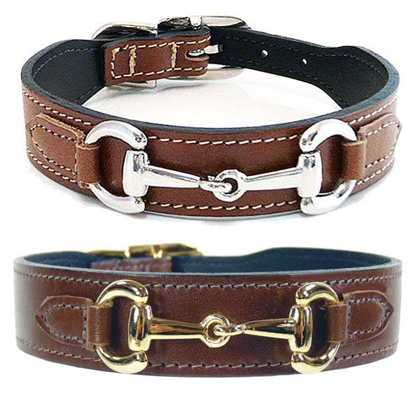 Gucci Poochie Italian Leather Dog Collar