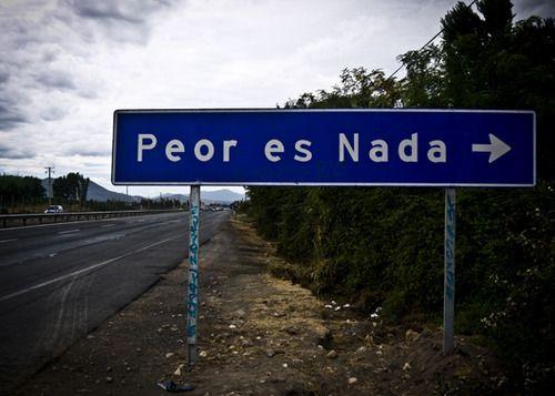 La Localidad de Peor es Nada está situado en la Comuna de Chimbarongo (en la Provincia de COLCHAGUA)