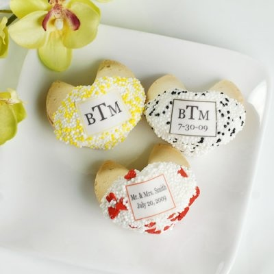 Wedding Personalized Fortune Cookies