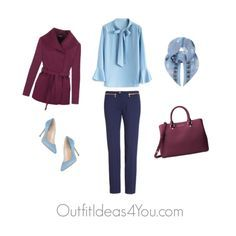 Have fun and wear what you love!  Jen Thoden                 Shop This Look      Chicwish neck tie chicwish.com    WearAll trench jacket wearall.com    Versace blue pants nordstrom.com    L.K.Bennett blue shoes $255-johnlewis.com    Michael Kors handbag mac