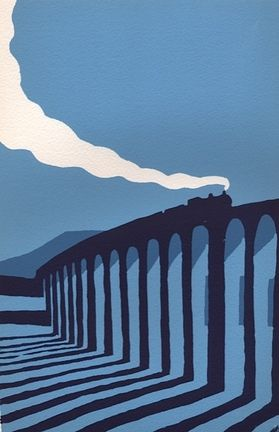 Blue Ribblehead by Ian Scott Massie
