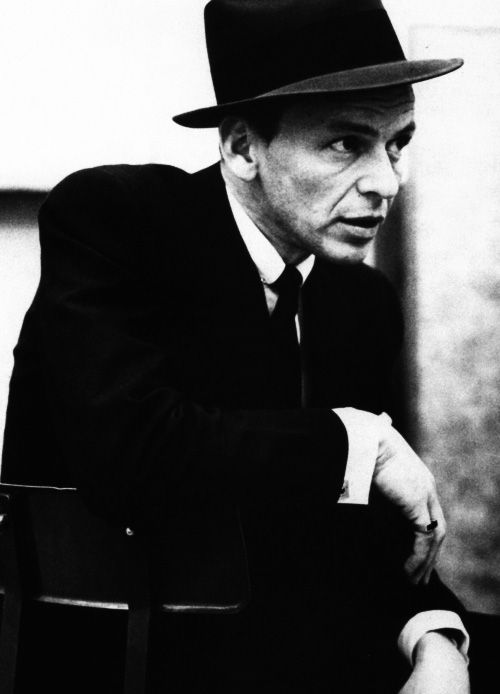 One of the most important icons of 20th century music: Frank Sinatra.