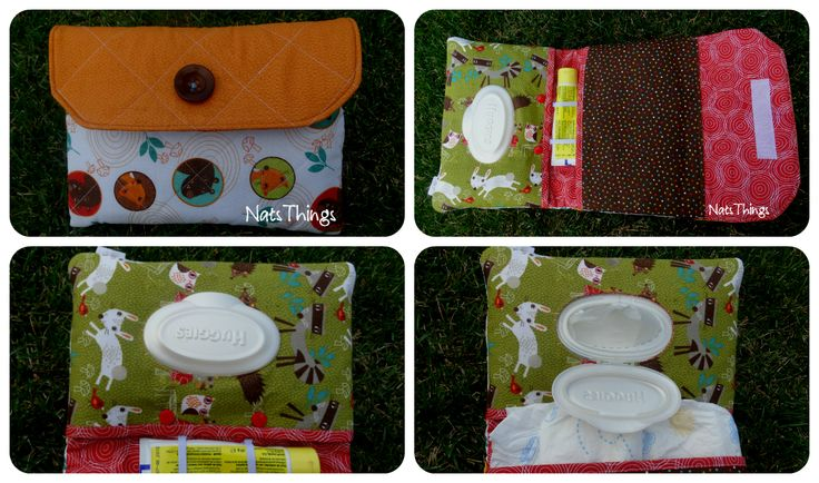 Baby kit (diaper and wipes pouch)