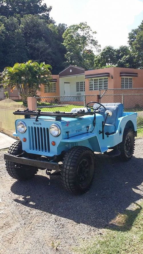 1954 Willys CJ-3B - Photo submitted by Gaver Rios.