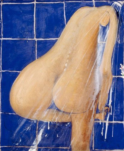 Brett Whiteley - The Shower, 1984
