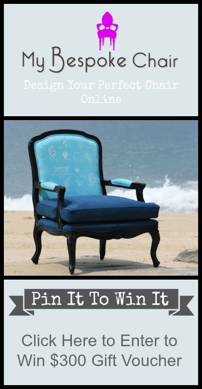 Click on the image to enter! Good luck - Emma #pinittowinit #contest #giveaway #mybespokechair