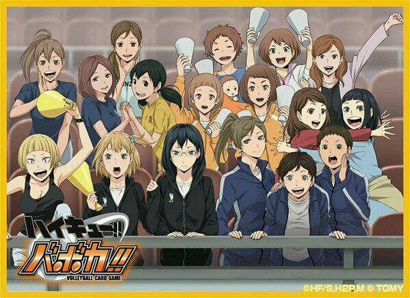 #anime #haikyuu #otaku #art #volleydorks #managers