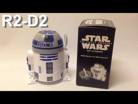 Yoshiny's Design: Starwars R2-D2 Cereal and Milk Container from Nestle.