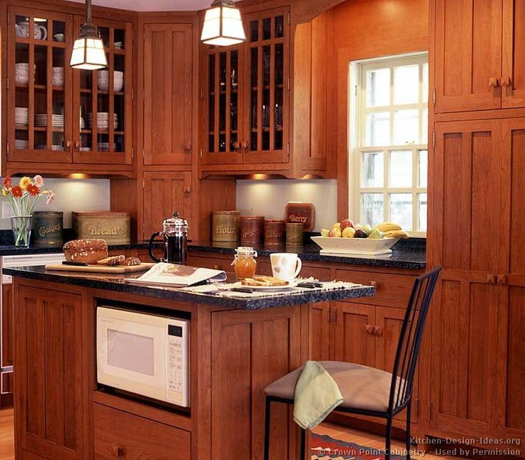 Of The Day: Craftsman Kitchens. (By Crown Point Cabinetry) Doors   Microwave
