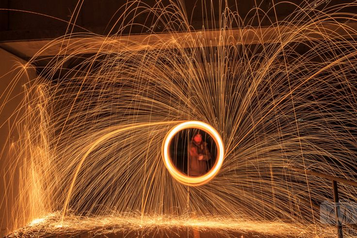 Steel Wool Photography, Melgar Ink Photography 2017.