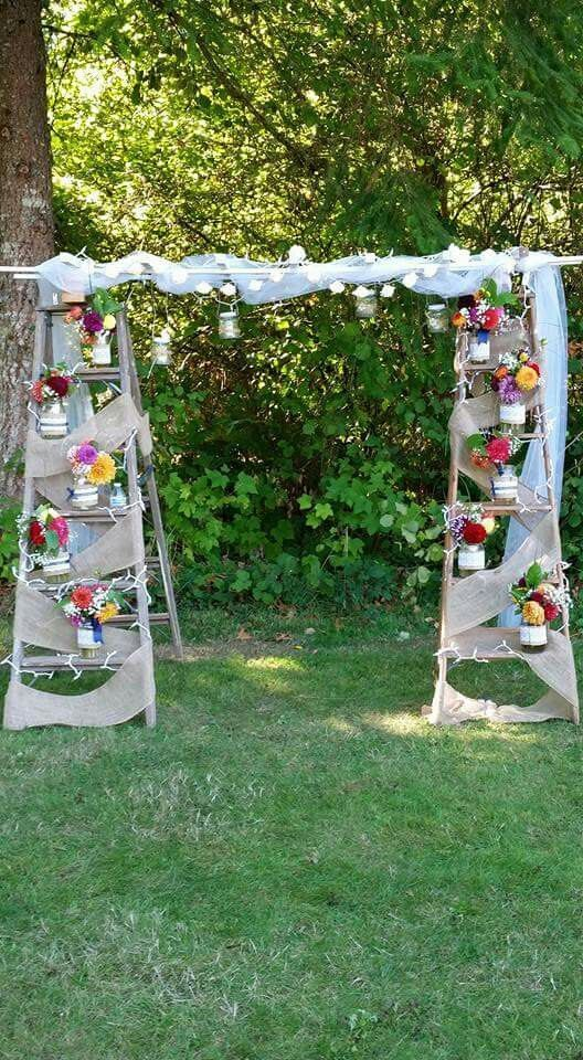 Best 25 Rustic Wedding Arches Ideas On Pinterest