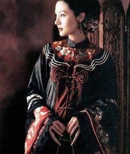 """Isn't this stunning?  A """"Cheongsam"""" or """"Qi Pao"""" - more modern Chinese dress, with it's peak in the 1930's although they are still seen at special events today."""