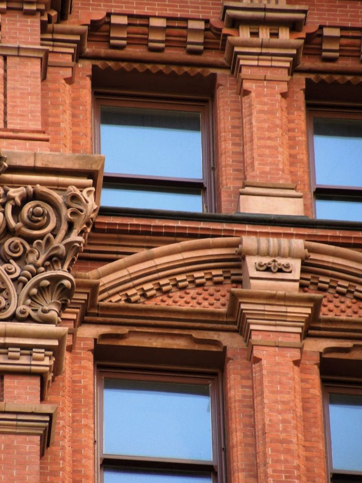 #brickwork #bricklaying #masonry #intricate #angular #cornice #lentils #ornate #windows
