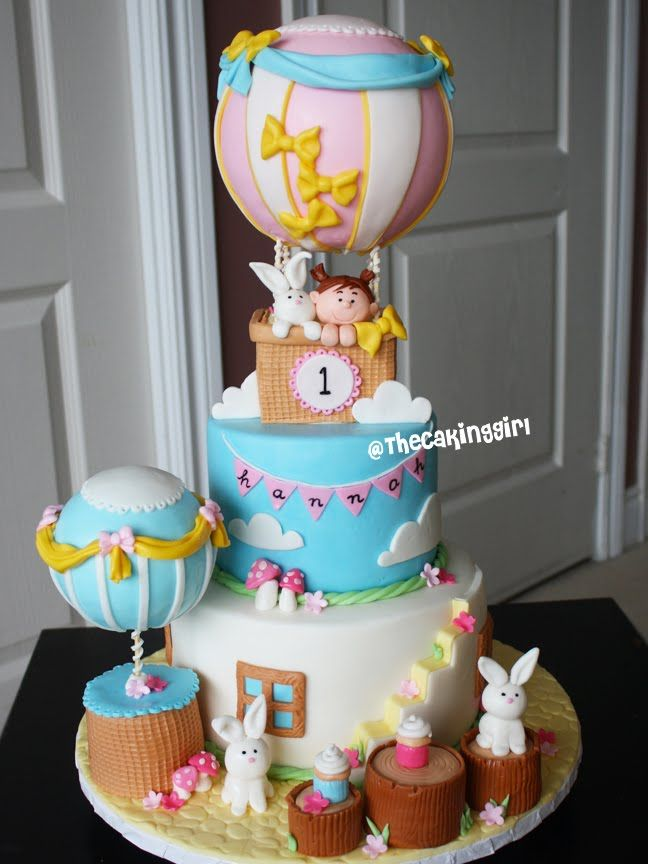 Cake Decorating Hot Air Balloon : 479 best images about Hot Air Balloon Cakes on Pinterest ...