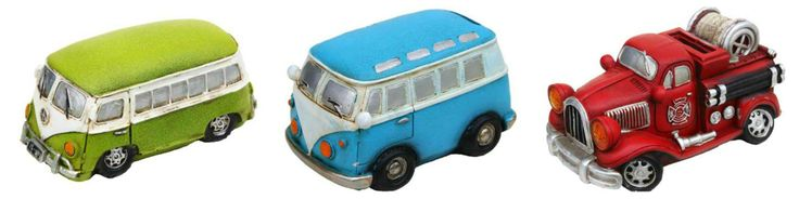 Gorgeous Kombi and Fire Truck money boxes...