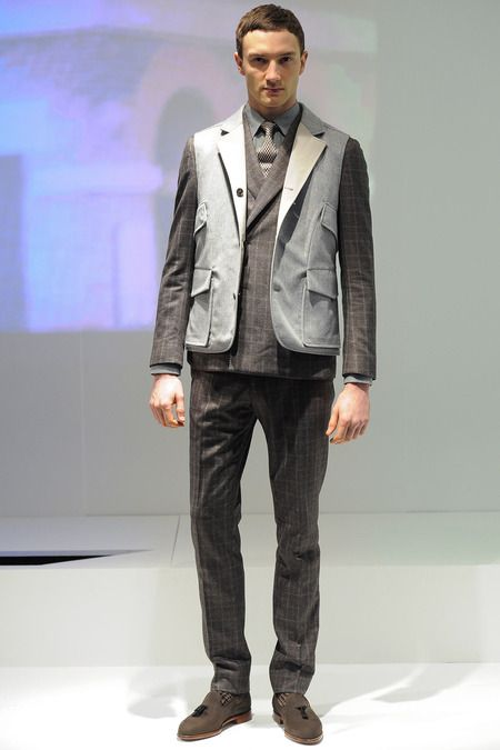 Hardy Amies | Fall 2014 Menswear Collection | Style.com